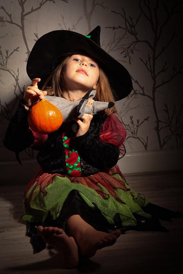 Kids Photography hexen Herbst